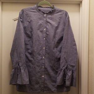 Ava & Viv Long Sleeved Blouse